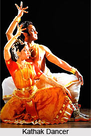 Performance of the Kathak Dancers
