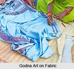 Godna Art, Chhattisgarh