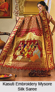 Mysore Silk Sarees, Sarees of South India