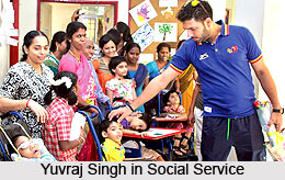 Yuvraj Singh, Indian Cricket Player