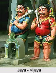 Jaya-Vijaya, Gate-Keepers Of Vishnu