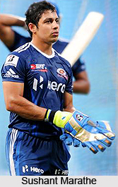 Sushant Marathe, Indian Cricket Player