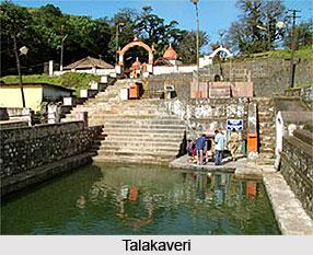 Origin of Kaveri River, Indian River