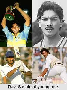 Ravi Shastri, Indian Cricket Player