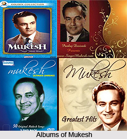 Mukesh , Indian Movie Singer