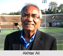 Akhtar Ali, Indian Tennis Player