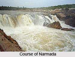 Course of  Narmada, Indian River