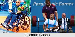 Farman Basha, Indian Power lifter