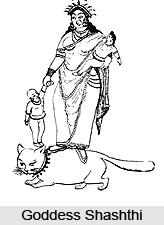 Goddess Shashthi