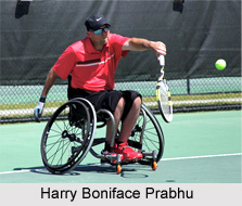 Harry Boniface Prabhu, Indian Tennis Player