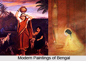 Influence of Renaissance on Bengali Paintings