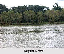 River Kaveri In Karnataka, Indian River