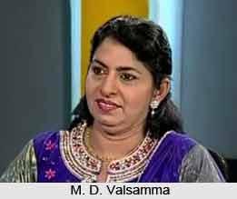 M. D. Valsamma, Indian Athlete