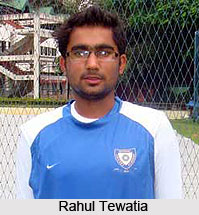 Rahul Tewatia, Indian Cricket Player