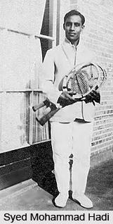 Syed Mohammad Hadi, Indian Athlete