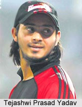 Tejashwi Prasad Yadav, Indian Cricket Player