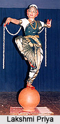 Lakshmi Priya,  Indian Dancer