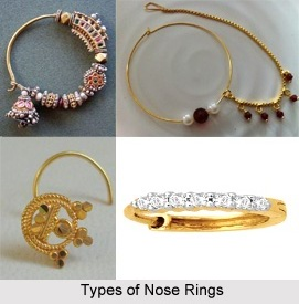 Nose Ring, Indian Jewellery