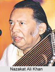 Mian Karim Bukhsh Majzoob, Ustad Ahmed Ali Khan, Ustad Niaz Hussain Shami, and Ustad Vilayat Ali Khan were some of the illustrious members of the Sham ... - 2_Nazakat_Ali_Khan