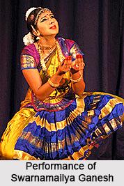 Swarnamailya Ganesh , Bharatnatyam Dancer