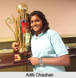 Aditi Chauhan, Indian Football Player