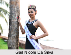 Gail Nicole Da Silva, Indian Beauty Pageant Winner