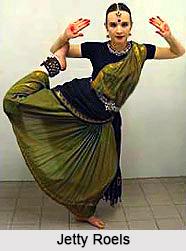 Jetty Roels , Bharatnatyam  Dancer