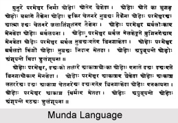 Munda Language, Indian Tribal Language