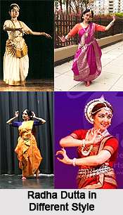 Radha Dutta,  Indian Dancer