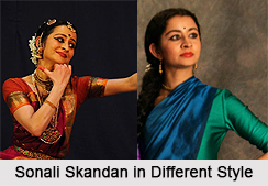 Sonali Skandan, Indian Dancer
