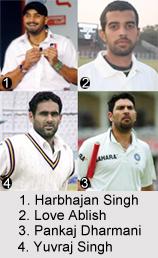 Punjab Cricket Players