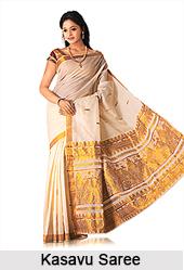 Kasavu Saree, Sarees of South India