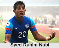 Syed Rahim Nabi, Indian Football Player