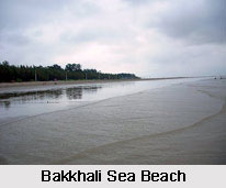 Bakkhali Beach, South 24 Parganas District, West Bengal