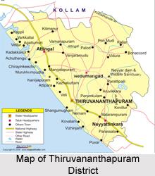 Thiruvananthapuram District, Kerala