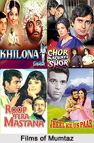Mumtaz, Bollywood Actress