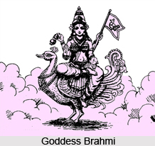 Brahmi, Goddess
