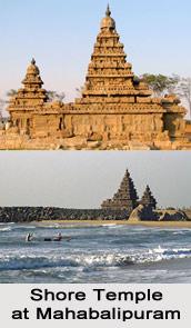 Mahabalipuram Shore Temple, Mahabalipuram, Tamil Nadu
