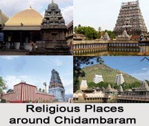 Religious Places around Chidambaram, Tamil Nadu, South India