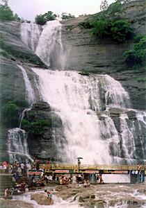 Courtallam, main Waterfall