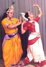 Performance of Odissi Dancers
