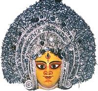 Purulia - Chhau Wooden mask