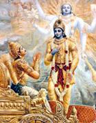 On the battlefield of Kurukshetra Lord Krishna adviced Arjuna about Maya