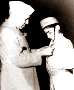 Harish Chandra Mehra was the first recipient of the bravery award of Pandit Jawaharlal Nehru