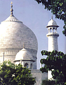 Heart grow fonder Sculpture of Taj Mahal