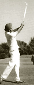 playing golf by Arjan Singh, Indian Air Force Marshal