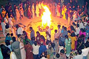 Holi Festival in Phalguna, Lunar Month