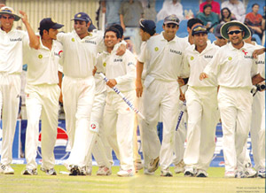 India's First Test Series Win in Pakistan, 2004