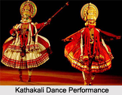 Performance in the Kathakali Dance
