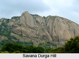 Savana Durga Hill, Karnataka